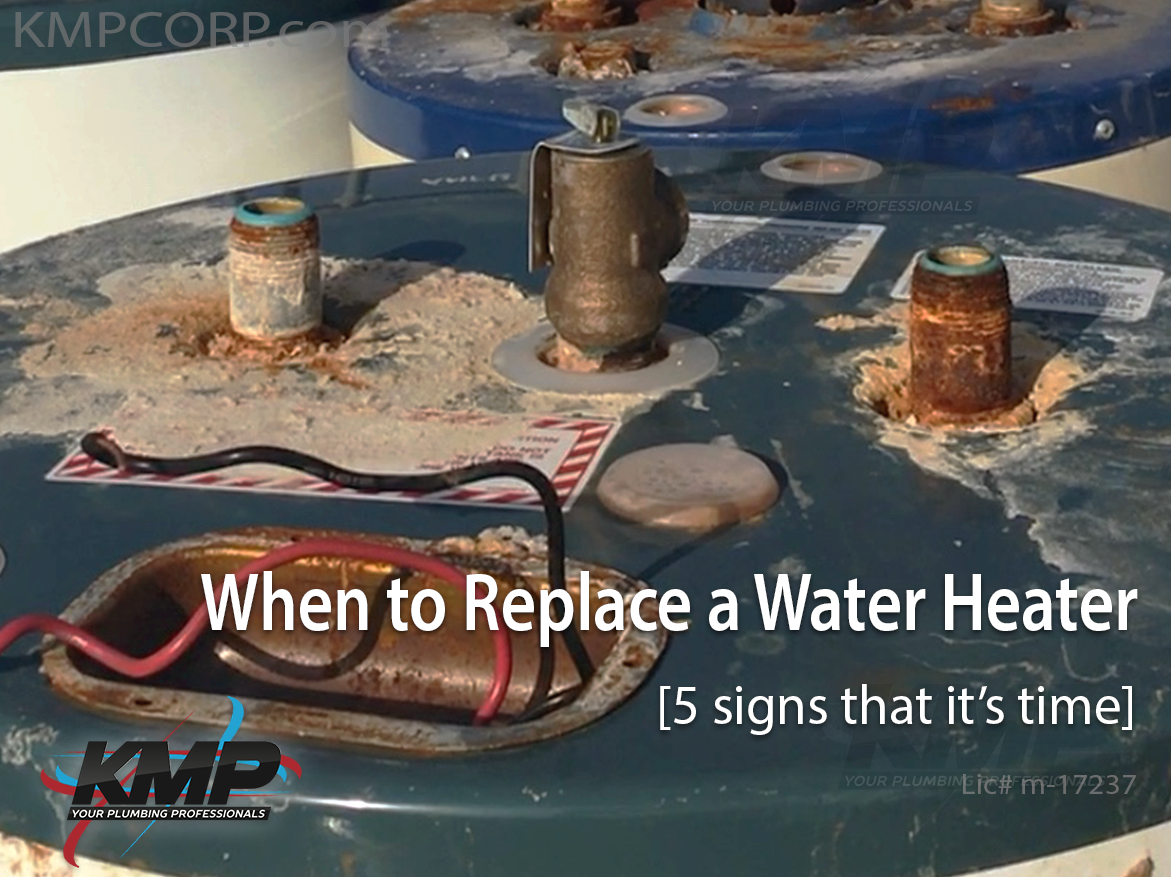 When To Replace A Water Heater 5 Signs That It S Time